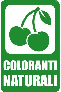 Prodotto con solo Coloranti Naturali - Horeca Vending